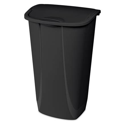 swing top wastebasket 11 gal swing top wastebasket black pv suppliers
