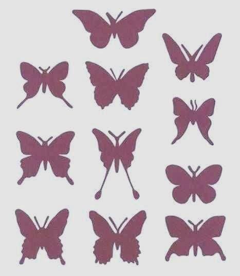 Silhoette Cameo Bekas kerajinan tangan dari barang bekas hiasan lilin kupu kupu
