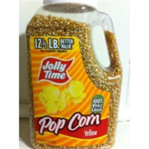 jolly time popcorn yellow kernels calories nutrition