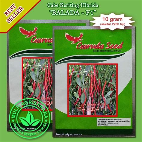 Bibit Kelapa Hibrida Bogor jual benih cabe merah keriting balada f1 hibrida harga
