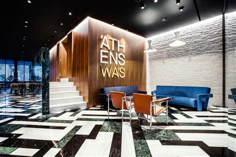 design milk hotel athens hotel that s a nod to classic modernism design milk
