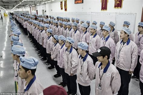 apple factory chinese iphone factory where 50k staff assemble the msut