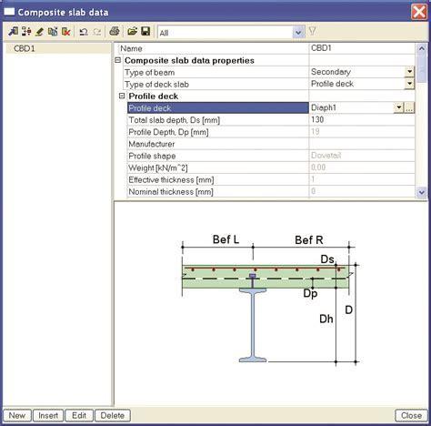 Composite steel concrete beams (esascd.01)