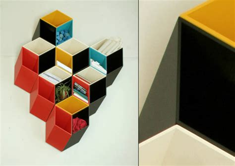 2 5 dimensional optical illusion bookshelf boing boing