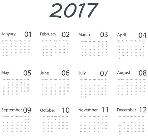 What Is Calendar 2017 Calendar Png Transparent Images Png All