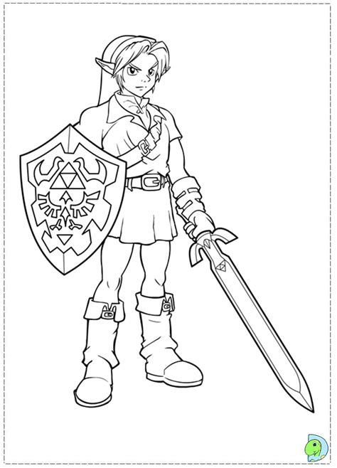 coloring pages of zelda zelda coloring page az coloring pages