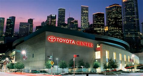 Toyota Center Events 2015 Toyota Center Cns Limo Executive Transportation