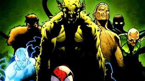 eclipsed turns out that spider does a afterall books the sinister six could still happen after all if