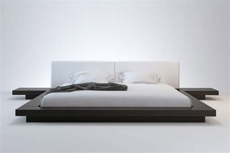 Furniture picture of ine low platform bed frame king size low