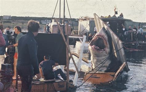 jaws fishing boat scene rare color photos from the filming of jaws on katama bay