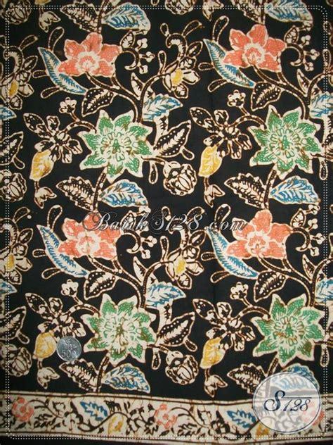 Kain Batik Tiga Bunga kain batik elegan motif bunga k1123c toko batik 2018