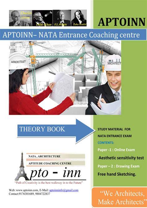reference books for nata nata study material nata books nata model papers nata