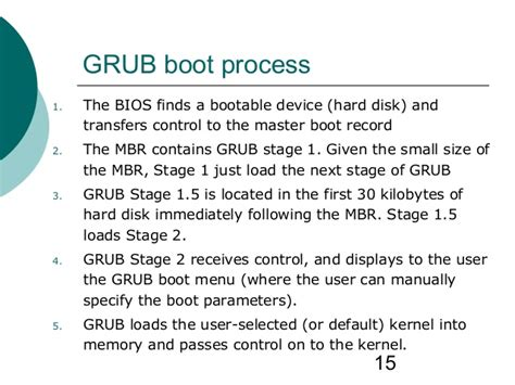 tutorial linux boot process linux booting procedure