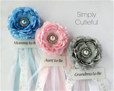 Baby Shower Corsage Etiquette by Baby Shower Corsage Ideas Baby Shower