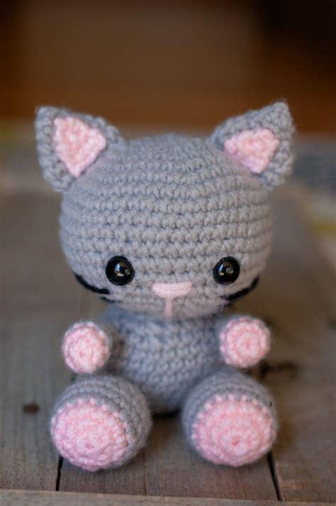 amigurumi cat pattern kaylie the kitten crochet cat pattern