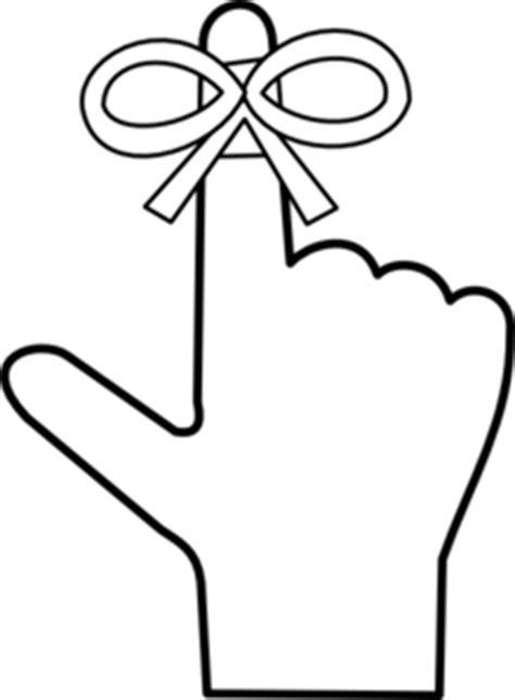 Free Clipart Reminder Finger reminder clip at clker vector clip