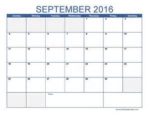 Calendar september 2016 calendar pdf september 2016 calendar