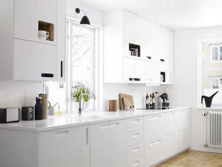 una cocina en blanco buena  mala idea