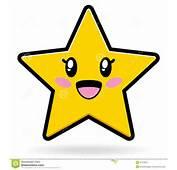 Una Ilustraci&243n De Un Car&225cter/de Mascota Lindos La Estrella