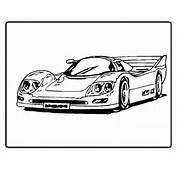 Cars Coloring Pages For Kids Printable Sports Car LRG