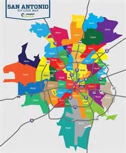 Zip Code Map San Antonio » Home Design 2017