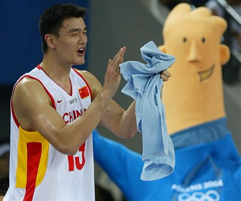 yao ming bench press 31 best images about olympic mascots on pinterest 2004 olympics moscow and olympic