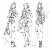 Adorable Cute Drawings Fashion Girl Girly Heels Style Summer