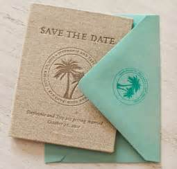 destination wedding save the dates and invitations trey s tropical passport save the dates