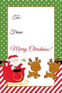 Santa christmas gift tag printable digi mama s free printables