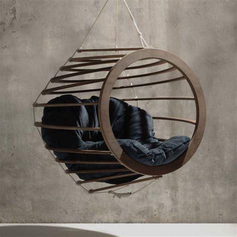 hanging swinging chair hive hanging chair by rawstudio notonthehighstreet com