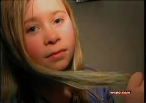 11 years old that has highlights at the bottom of their hair 10 year old suspended for having blue streaks in her hair