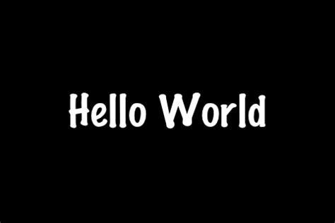 hello world coalescecreative