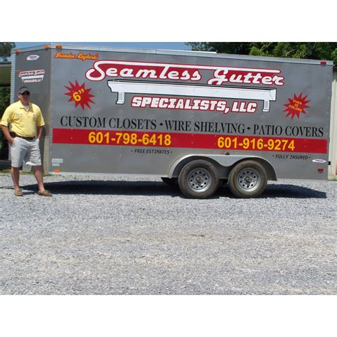 seamless gutter specialists picayune mississippi ms