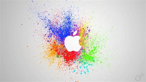 spray painting wallpaper apple paint wallpaper