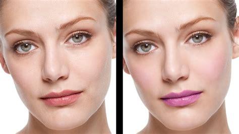 Makeup Psd Templates For Photoshop | natural skin retouching applying makeup photoshop cs6