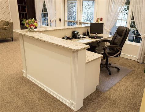 built in reception desk custom build reception desk search property