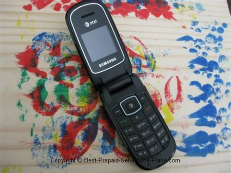 At T Samsung A107 Prepaid Flip Phone by Samsung A107 Gophone Review