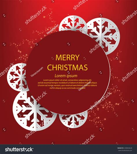 christmas greeting card vector illustration stock vector