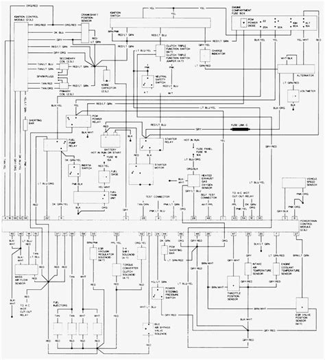 wiring diagrams for 1995 ford ranger wiring diagram