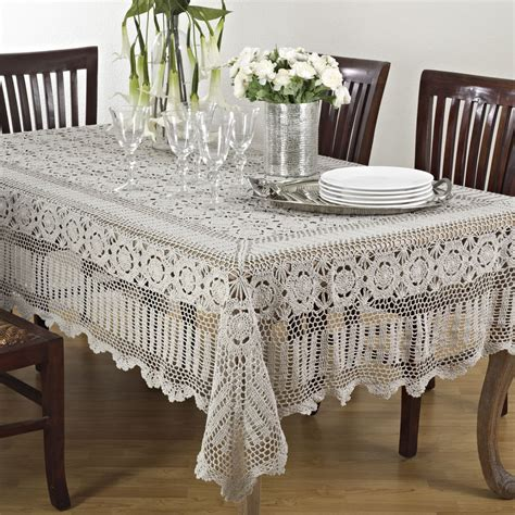 table cloth crochet lace tablecloth ebay
