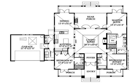 Southern Plantation Floor Plans Southern Style Homes Plantation Style House Floor Plan Hawaiian Plantation Home Plans