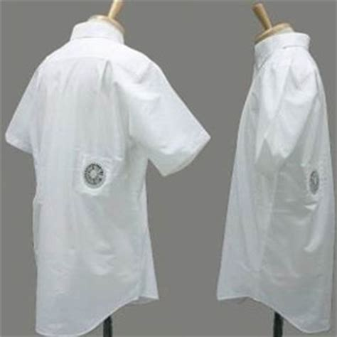 Air Conditioned Clothing Cool And Lame At The Same Time by Kuchofuku Air Conditioned Cooling Shirt The Green