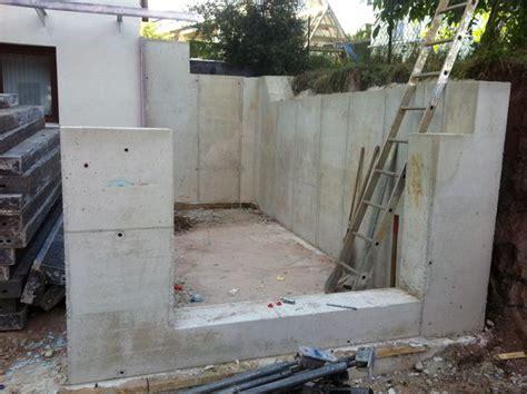 Hangsicherung Gabionen Kosten by Hangsicherung Und Betontreppe Hausbau Ein Baublog