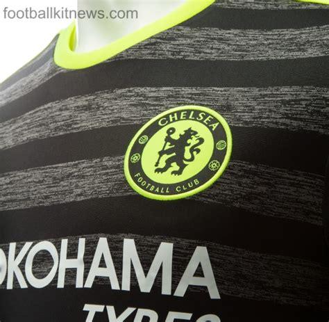 Kaos Chelsea New Cfc 12 new chelsea away kit 2016 17 black cfc alternate jersey
