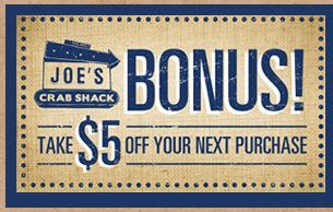 Joes Crab Shack Gift Card - olive garden gift card promotion deals at joe s crab shack and more