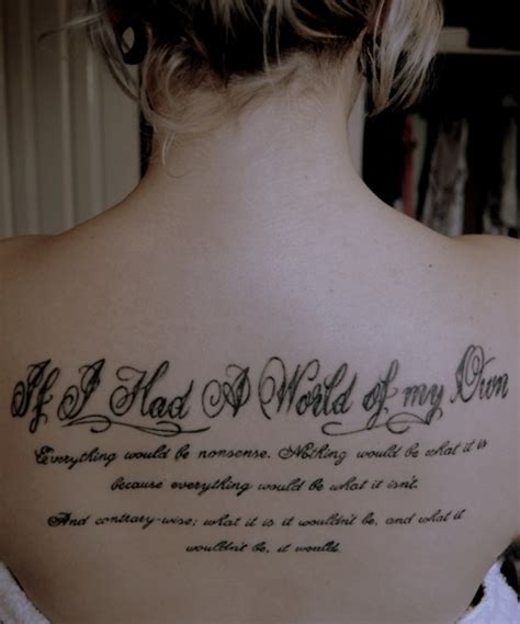 female quote tattoos in quotes sayings lettering