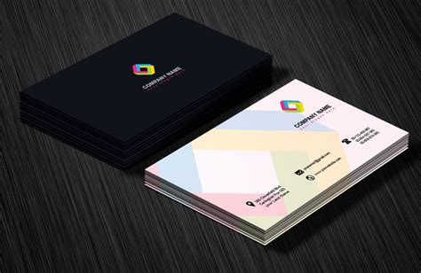 business review card template professional business card design template by arenareviews