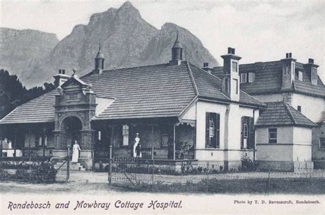 cottage cape town rondebosch and mowbray cottage hospital c1900 historic