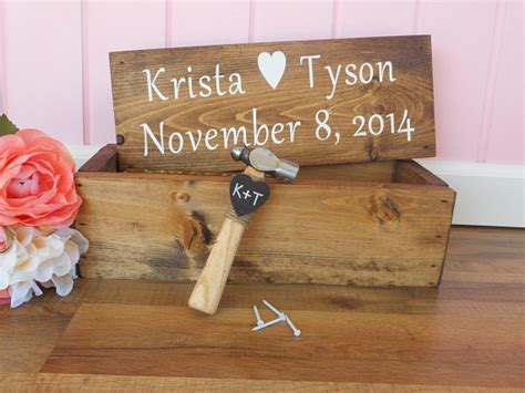 Wedding Gift Wine Box by Rustic Wedding Wine Box Ceremony Wedding Anniversary Wine