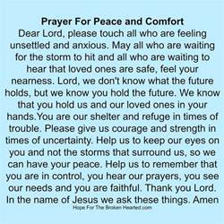 Psalm For Comfort by Best 25 Prayers For Peace Ideas On Prayer For